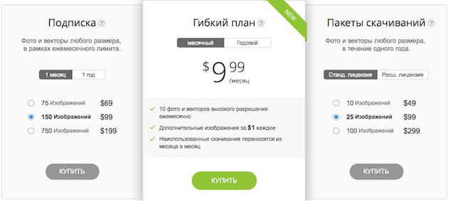 Стоимость фотографий на Depositphotos