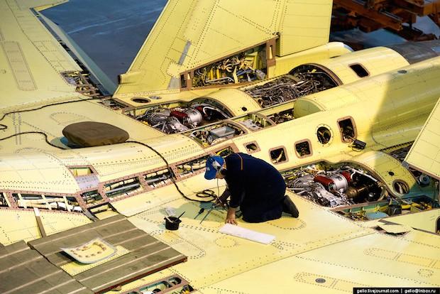 Производство самолетов Су