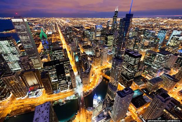 Ночной Чикаго - Gelio Vostok