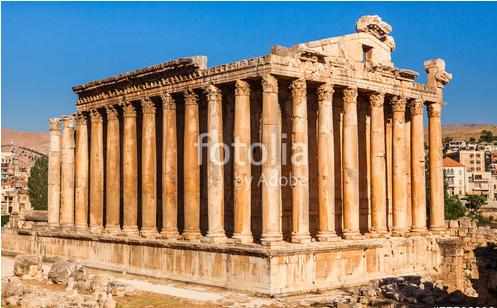 Римский Храм Бахуса в Баальбеке