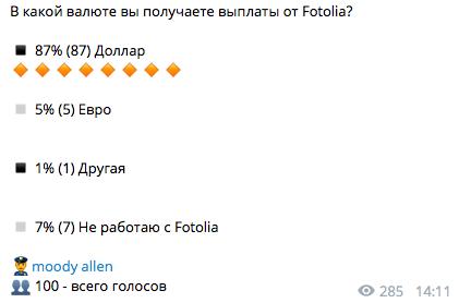 Заработок в Fotolia