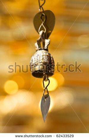 Изолированное изображение колокольчика