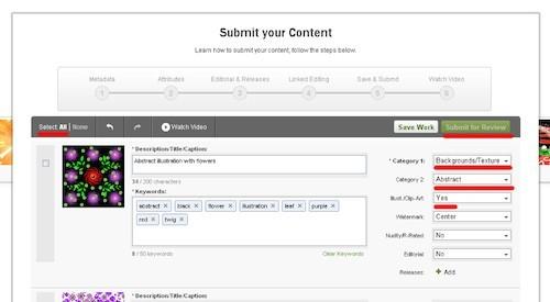 Экзамен на Shutterstock