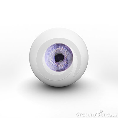 eyeball-shadow-white-background-isolated-50041088