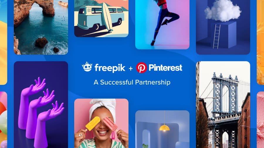 Freepik и Pinterest